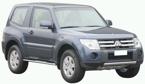 TUBE PROTECTION FRONTALE INOX MITSUBISHI PAJERO DID 2007
