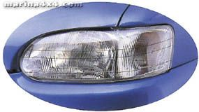 HEADLAMP GUARDS TOYOTA RAV'4 -1999   PROTECTION PHARES PLEXI