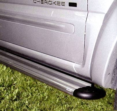 Marche pieds ALU S50 JEEP  GRAND CHEROKEE -1999 - accessoires 4x4 marina