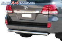 PARE CHOC ARRIERE INOX Ø 76 TOYOTA LC200 V8 2008