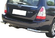 PROTECTION ANGLES DE PARE-CHOC INOX  Ø 63 SUBARU FORESTER 2006