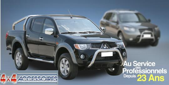 PROTECTION ANGLES DE PARE-CHOC INOX Ø 63 LDROVER FREELANDER ( X2 )-07