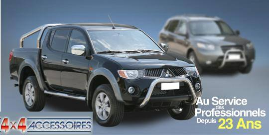 PROTECTION ANGLES DE PARE-CHOC INOX Ø 50 SUZUKI GRAND VITARA -00( X2)
