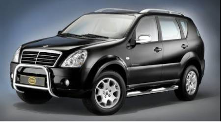 Protection avant SSANGYONG REXTON II 2006->  SSG7201201 - accessoires 4x4 SONAUTO