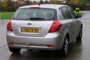ATTELAGE KIA CEED 2007-> (hayon ED) - RDSO demontable sans outil - attache remorque BRINK-THULE