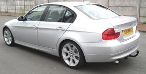 ATTELAGE BMW SERIE 3 BERLINE 03/2005-> E90 - RDSO demontable sans outil - attache remorque WESTFALIA